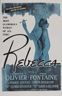 Rebecca - 27 x 40 Movie Poster - Style E