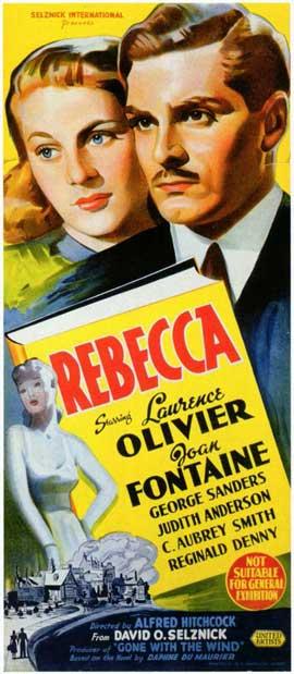 Rebecca - 11 x 17 Movie Poster - Style C