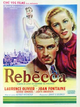 Rebecca - 11 x 17 Movie Poster - Belgian Style A