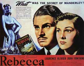 Rebecca - 11 x 14 Movie Poster - Style B