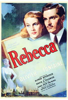 Rebecca - 27 x 40 Movie Poster - Style A