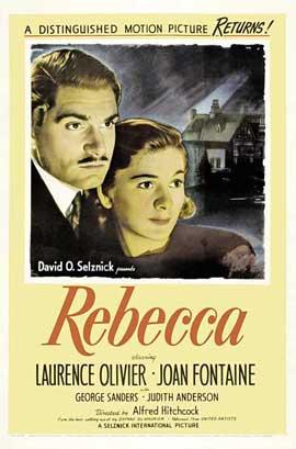 Rebecca - 27 x 40 Movie Poster - Style B