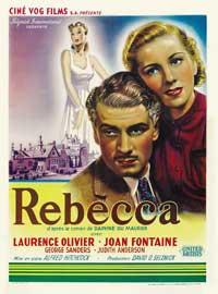 Rebecca - 11 x 17 Movie Poster - Belgian Style C