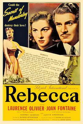 Rebecca - 11 x 17 Movie Poster - Style I