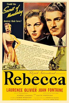 Rebecca - 27 x 40 Movie Poster - Style D