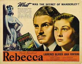 Rebecca - 22 x 28 Movie Poster - Style A