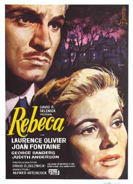 Rebecca - 11 x 17 Movie Poster - Spanish Style B