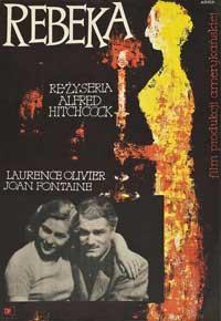 Rebecca - 27 x 40 Movie Poster - Polish Style A