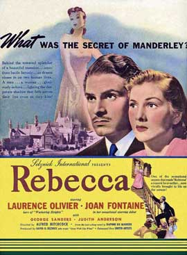 Rebecca - 11 x 17 Movie Poster - Style J