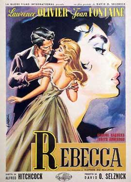 Rebecca - 11 x 17 Movie Poster - Style M
