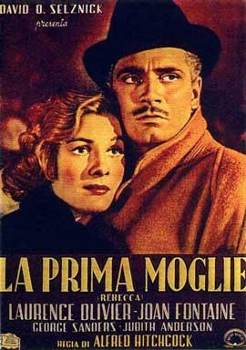 Rebecca - 11 x 17 Movie Poster - Italian Style B