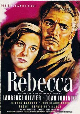 Rebecca - 11 x 17 Movie Poster - Style N