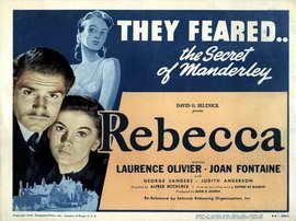 Rebecca - 11 x 17 Movie Poster - Style O