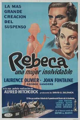 Rebecca - 27 x 40 Movie Poster - Spanish Style C