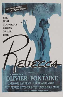 Rebecca - 11 x 17 Movie Poster - Style P