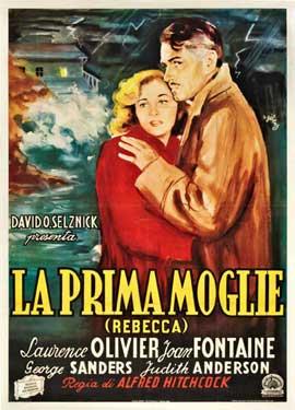 Rebecca - 27 x 40 Movie Poster - Italian Style A