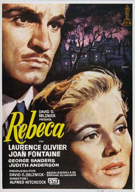 Rebecca - 11 x 17 Movie Poster - Spanish Style A