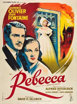 Rebecca - 27 x 40 Movie Poster - French Style A