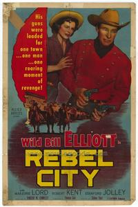 Rebel City - 27 x 40 Movie Poster - Style A