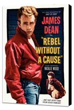 Rebel without a Cause - 11 x 17 Movie Poster - Style J - Museum Wrapped Canvas