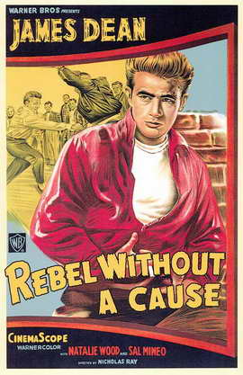 Rebel without a Cause - 11 x 17 Movie Poster - Style B