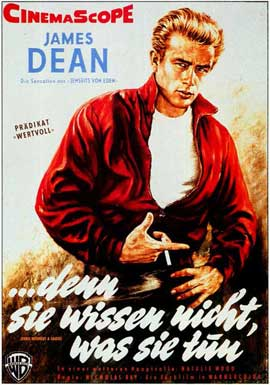 Rebel without a Cause - 11 x 17 Movie Poster - German Style A