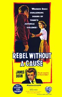 Rebel without a Cause - 11 x 17 Movie Poster - Style E