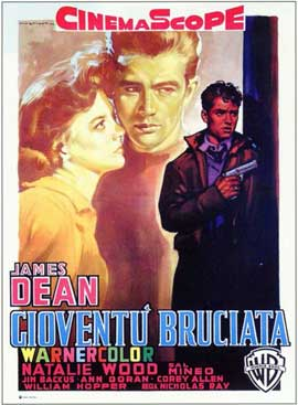 Rebel without a Cause - 11 x 17 Movie Poster - Italian Style A