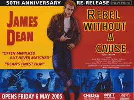 Rebel without a Cause - 11 x 17 Movie Poster - Style F