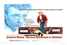 Rebel without a Cause - 24 x 36 Movie Poster - Style A