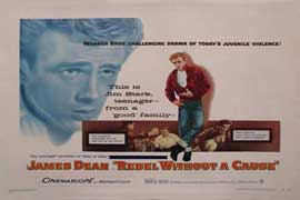 Rebel without a Cause - 11 x 17 Movie Poster - Style G