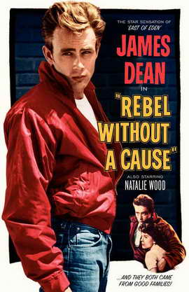 Rebel without a Cause - 11 x 17 Movie Poster - Style J