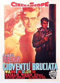 Rebel without a Cause - 11 x 17 Movie Poster - Italian Style D