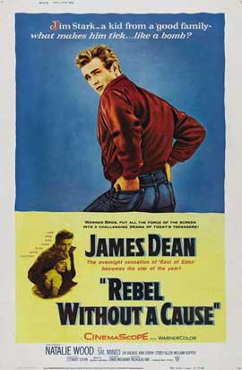 Rebel without a Cause - 11 x 17 Movie Poster - Style K