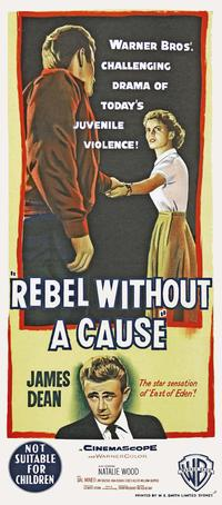 Rebel without a Cause - 11 x 17 Movie Poster - Australian Style A