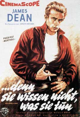 Rebel without a Cause - 11 x 17 Movie Poster - German Style C