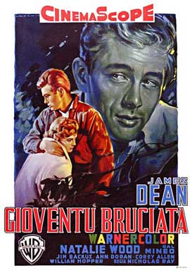 Rebel without a Cause - 11 x 17 Movie Poster - Italian Style E
