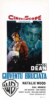 Rebel without a Cause - 11 x 17 Movie Poster - Italian Style F