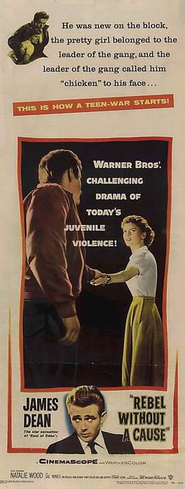 Rebel without a Cause - 14 x 36 Movie Poster - Insert Style A