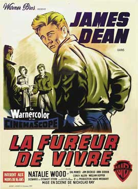 Rebel without a Cause - 11 x 17 Movie Poster - French Style A