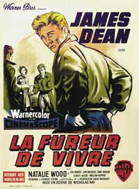 Rebel without a Cause - 27 x 40 Movie Poster - French Style A