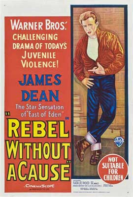 Rebel without a Cause - 27 x 40 Movie Poster - Australian Style A