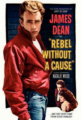 Rebel without a Cause - 27 x 40 Movie Poster - Style B