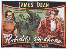 Rebel without a Cause - 11 x 17 Movie Poster - Spanish Style A