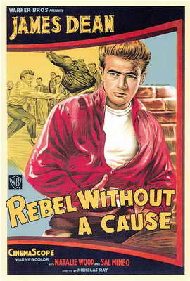 Rebel without a Cause - 27 x 40 Movie Poster - Style D