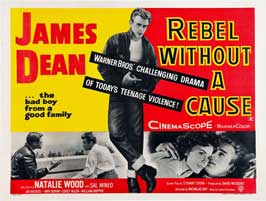 Rebel without a Cause - 30 x 40 Movie Poster UK - Style B