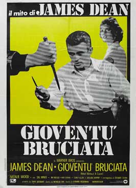 Rebel without a Cause - 43 x 62 Movie Poster - Italian Style A
