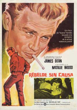 Rebel without a Cause - 27 x 40 Movie Poster - Spanish Style B