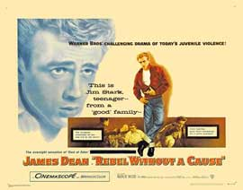 Rebel without a Cause - 27 x 40 Movie Poster - Style E