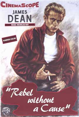 Rebel without a Cause - 27 x 40 Movie Poster - Style F
